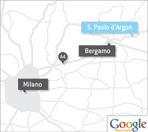 Map to San Paolo